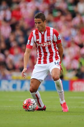 Ibrahim Afellay / Stoke City / #14 / Holanda / Extremo / 29 años<p>Foto: Getty Images</p>