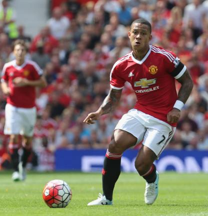 Memphis Depay / Manchester United / #7 / Holanda / Extremo / 21 años<p>Foto: Getty Images</p>