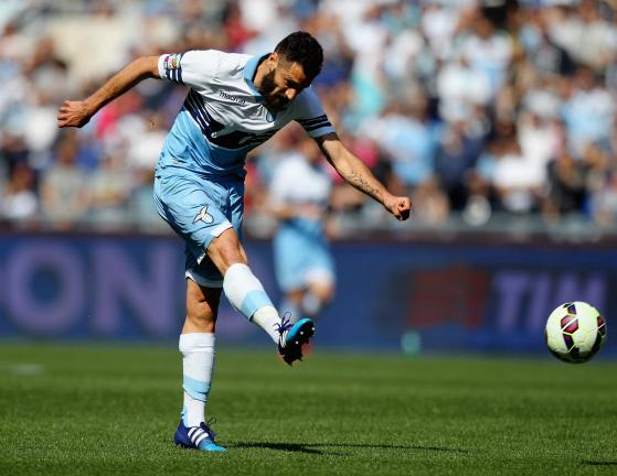 <b>Antonio Candreva / Italia / 28 años / Lazio </b><p>Foto: Getty</p>