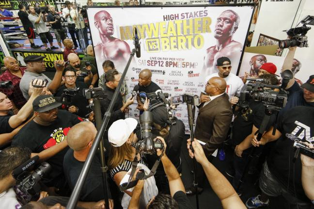 Floyd Mayweather. Foto: Esther Lin/SHOWTIME