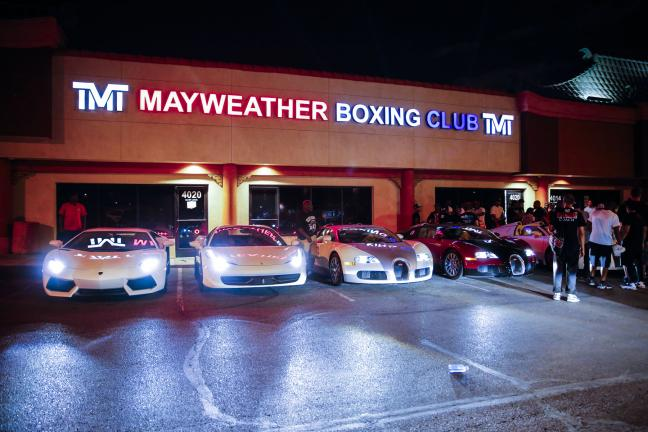 El gimnasio de Mayweather. Foto: Esther Lin/SHOWTIME