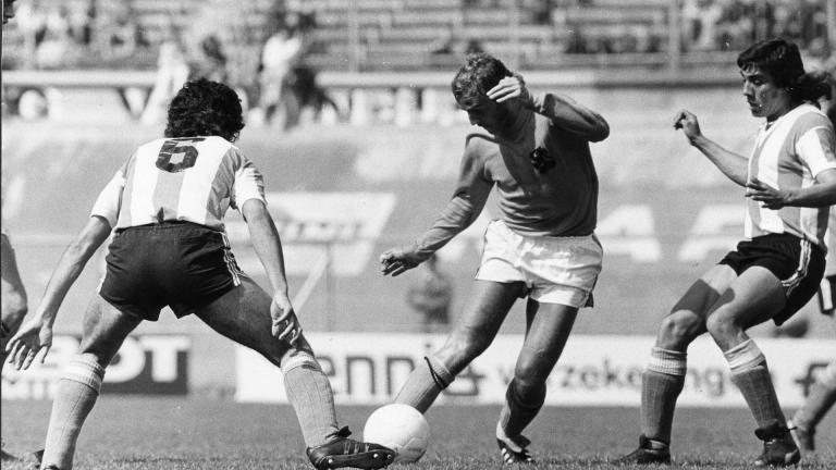 <b>Ramón Heredia</b><br> Argentina Mundial Alemania 1974<br>Foto: Getty Images