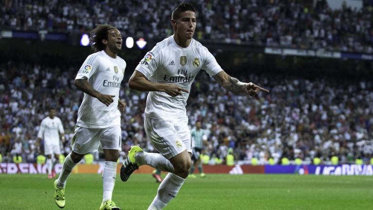 <b>James Rodríguez</b>.- Colombiano / Real Madrid<p>Foto: Getty Images</p>