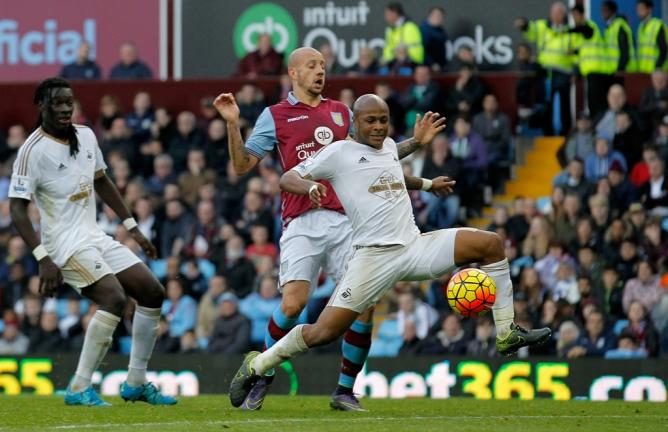 <b>André Ayew (GHA/Swansea).</b> Foto: Getty Images