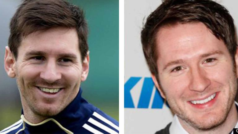 <b>Lionel Messi y Adam Young</b> <p><p> Foto: GettyImages/Twitter