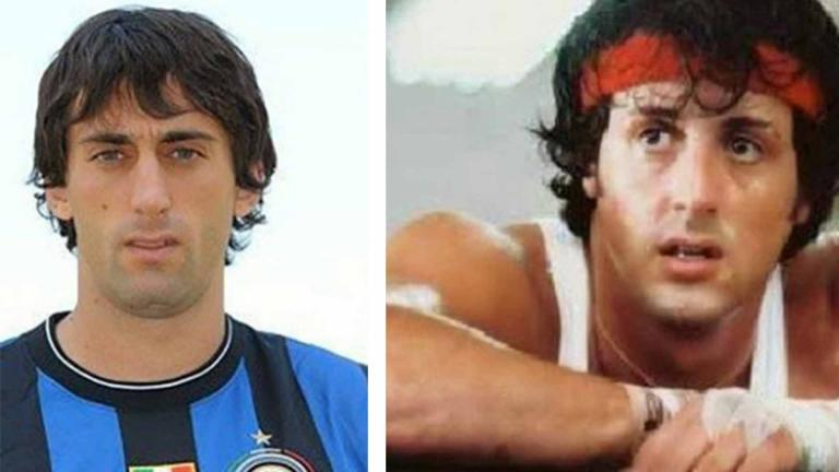 <b>Diego Milito y Rocky</b> <p><p> Foto: GettyImages/Twitter