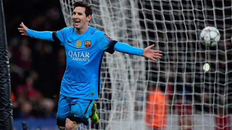 <b>3</b>.- Lionel Messi / 83.4 millones de fans</p>Foto: Getty</p>