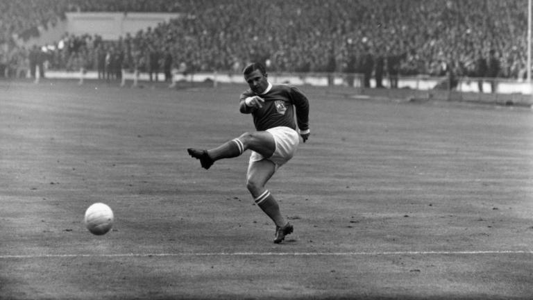 7º: Ferenc Puskas (Real Madrid) Foto: Getty Images