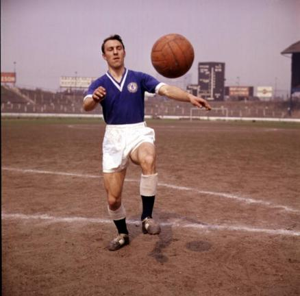 """Jimmy Greaves, 132 tantos con los """"Blues"""". Foto: Getty Images"""