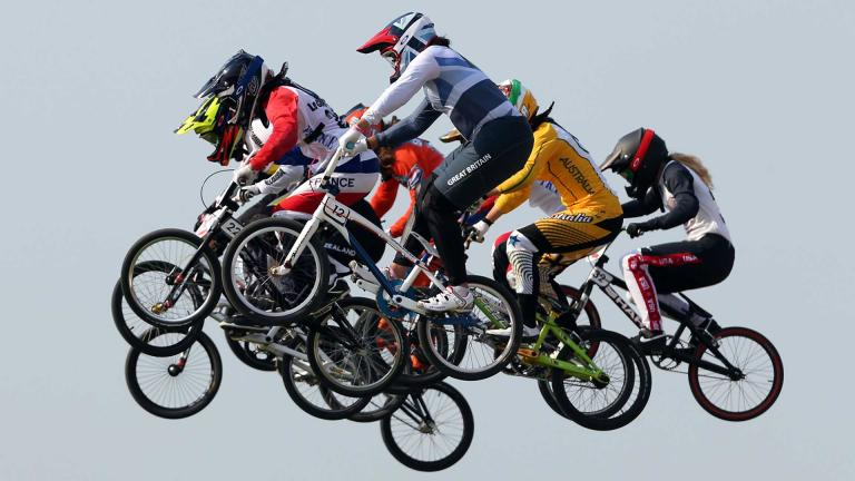 CICLISMO (BMX) Foto: Getty Images