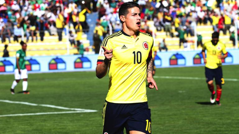 <b>3.-James Rodríguez</b> / Colombia / Real Madrid / Valor: 78.19 MDD<p>Foto: Getty</p>