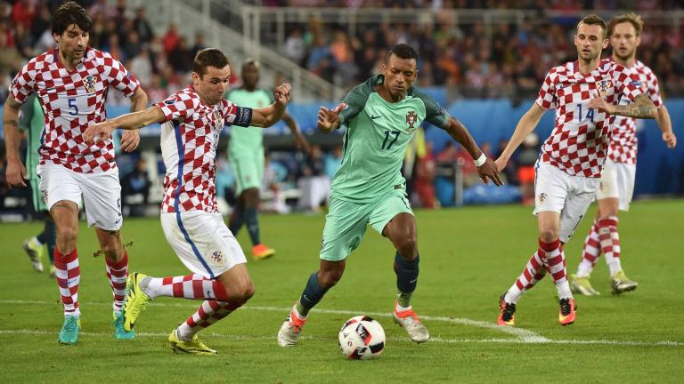 <b>Partidos y minutos jugados</b>.- Nani ha estado presente en los 4 duelos de Portugal y ha disputado 380 minutos. <p>Foto: Getty Images</p>