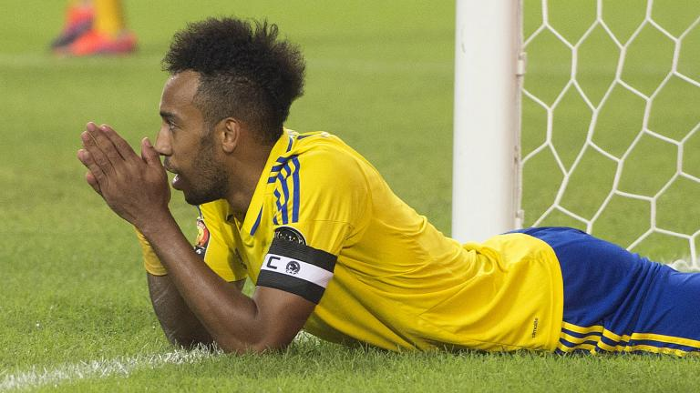 <b>Pierre-Emerick Aubameyang</b> / Delantero / Gabón </p>Foto: Getty Images