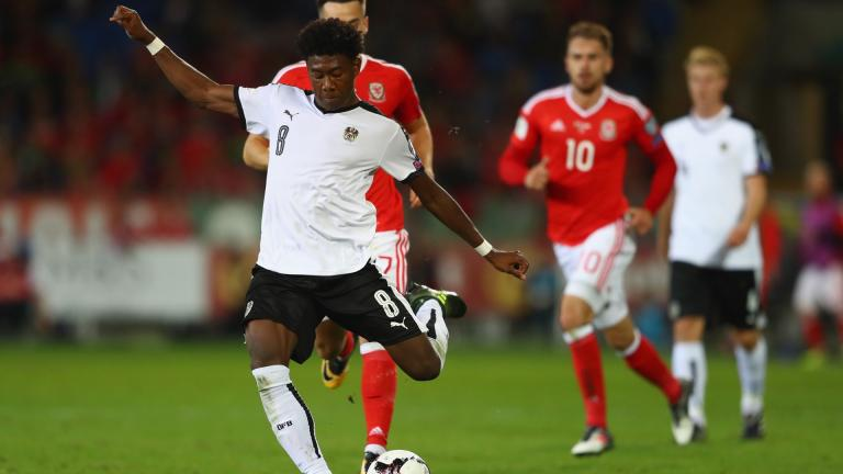 <b>David Alaba</b> / Defensa / Austria </p>Foto: Getty Images