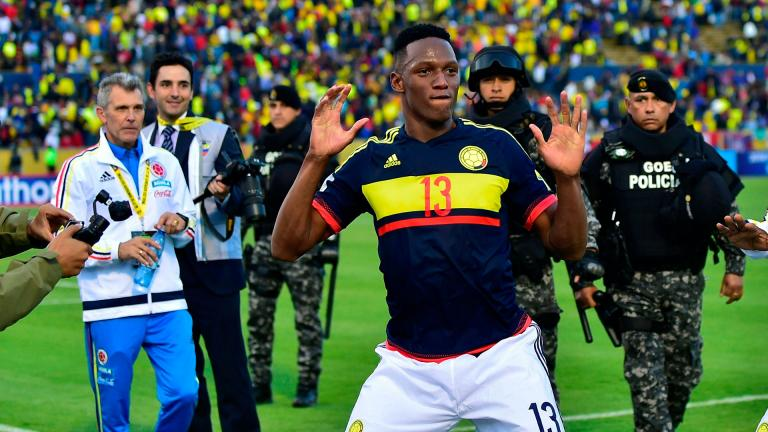 <b>Yerry Mina</b> | Defensa | Colombia<p>Getty</p>