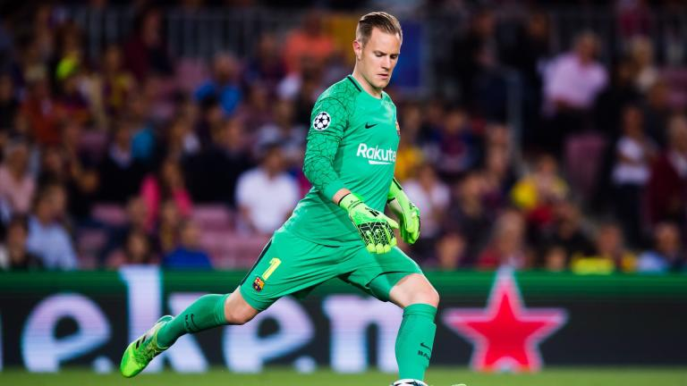 <b>Marc-André Ter Stegen</b> / Portero / Barcelona</p>Foto: Getty Images