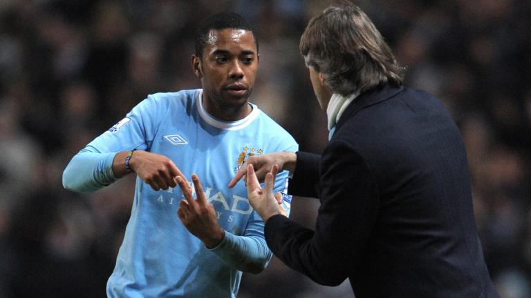 <b>8.- Robinho / 47.8 millones de dólares / Real Madrid -> Manchester City</b></p>Foto: Getty Images</p>