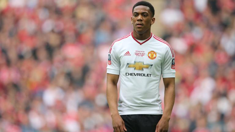<b>Anthony Martial / Manchester United:</b> 56.06 millones de dólares. <p>Foto: Getty</p>