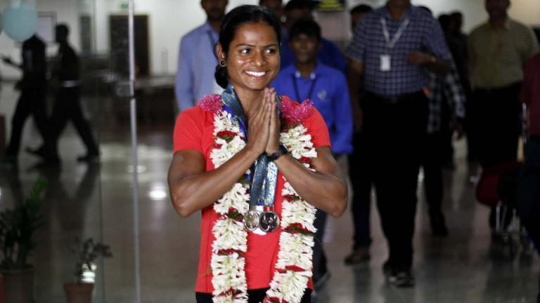 Dutee Chand / India / Atletismo. <p>Foto: Getty</p>