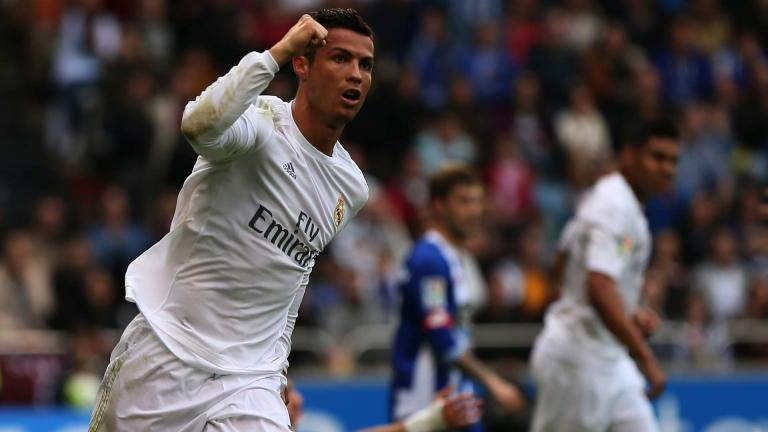 <b>Cristiano Ronaldo / Real Madrid / 548 goles</b><p>Foto: Getty</p>