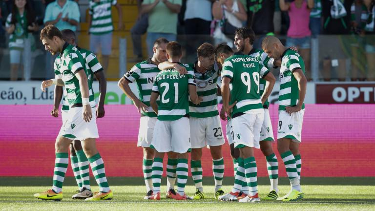 Sporting CP / Portugal. <p> Foto: Getty</p>