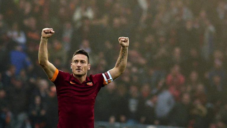 <b>Francesco Totti / AC Roma / 313 goles</b><p>Foto: Getty</p>