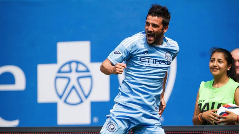 <b>David Villa / Manchester City / 380 goles</b><p>Foto: Getty</p>