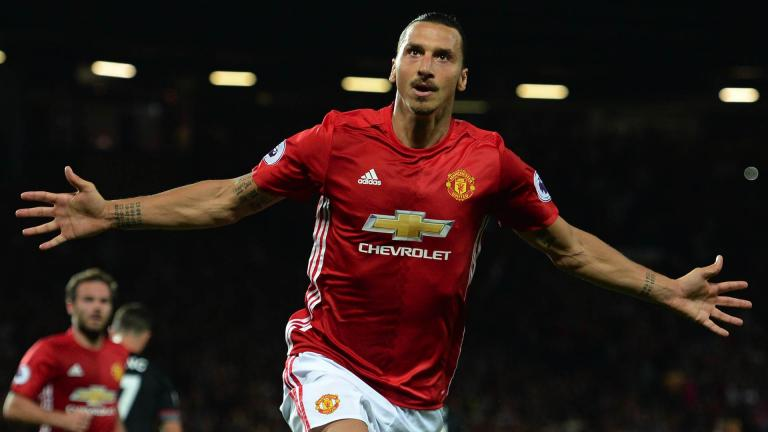 <b>Zlatan Ibrahimovic / Manchester United / 392 goles</b><p>Foto: Getty</p>