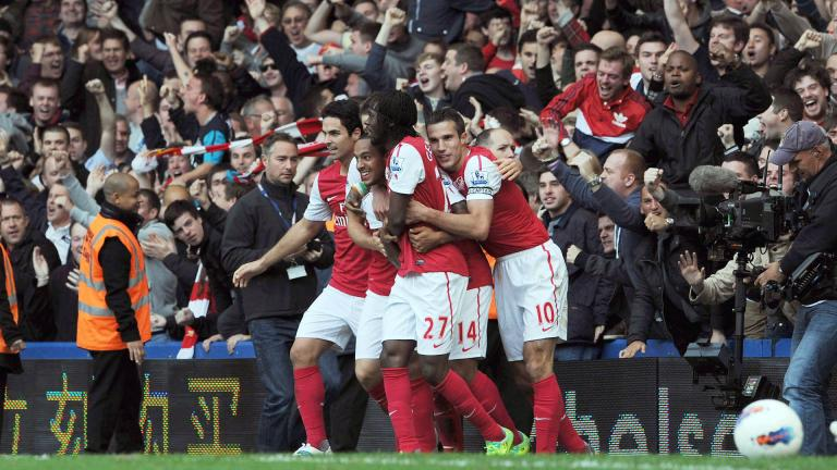 El 5-3: partido cardiaco a favor de Arsenal. <p>Foto: Getty</p>