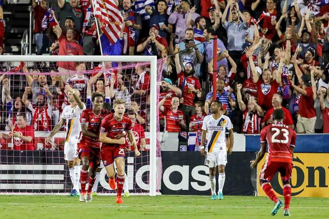 FC Dallas derrotó 1-0 al LA Galaxy en la MLS. Foto: Getty Images