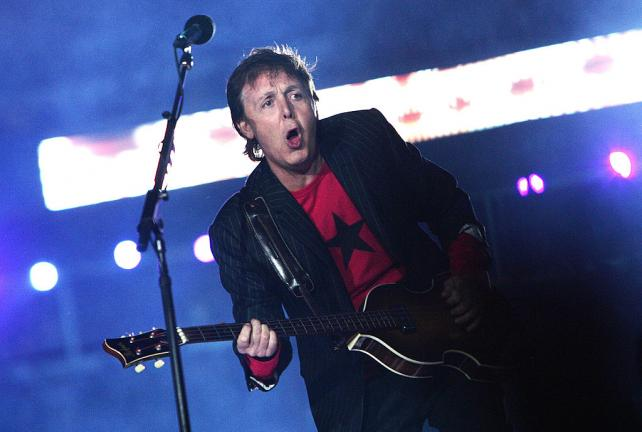 2005.- Paul McCartney. Foto: Getty Images
