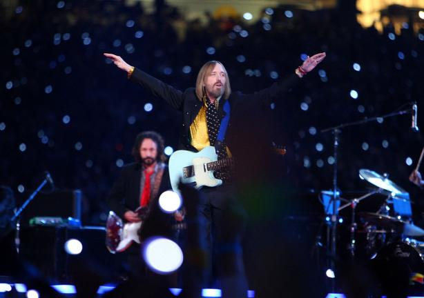2008.- Tom Petty & The Heartbreakers. Foto: Getty Images.