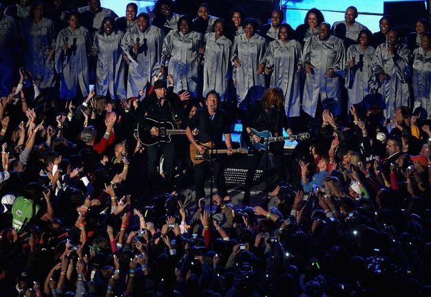 2009.- Bruce Springsteen y E Street Band. Foto: Getty Images