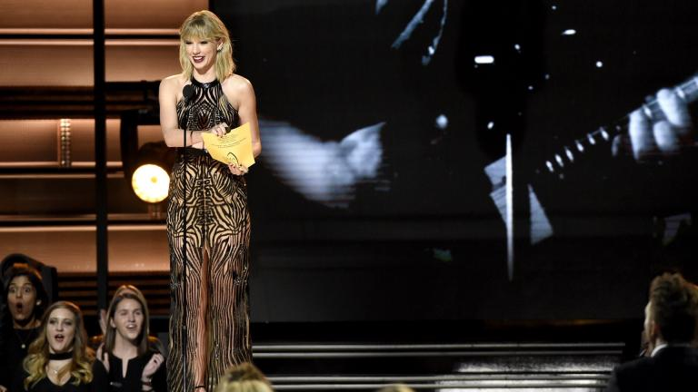 3.- Taylor Swift (Actriz y cantante) </p>Foto: Getty Images</p>