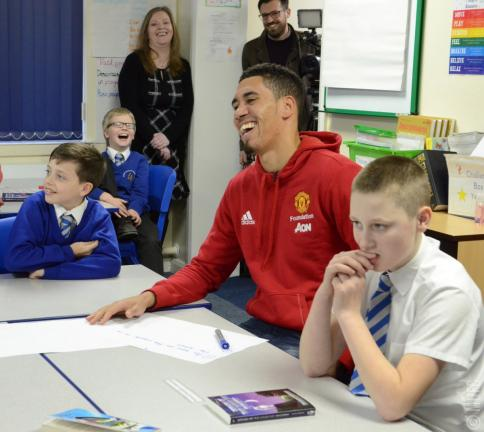 <strong>Christopher Smalling</strong>. Foto: Manchester United