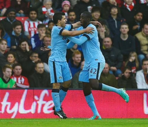 <strong>Manchester City - Yaya Touré / Sergio Agüero:</strong> 299.083 dólares semanales. Foto: Getty
