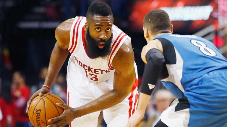 James Harden (Houston Rockets) 430.777 votos. Foto: Getty Images