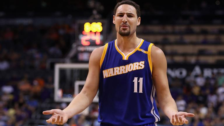 Klay Thompson (Golden State Warriors) 555.513 votos. Foto: Getty Images