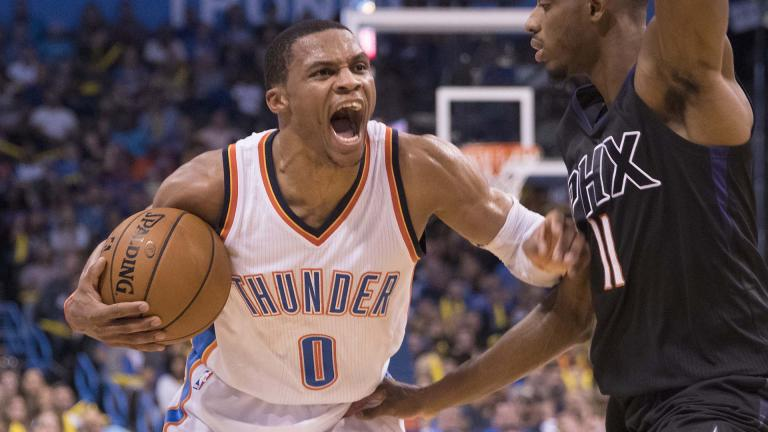 Russell Westbrook (Oklahoma City Thunder) 772.019 votos. Foto: Getty Images