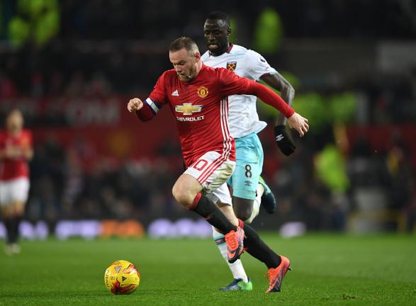 <strong>10. Wayne Rooney (Manchester United)</strong> Foto: Getty