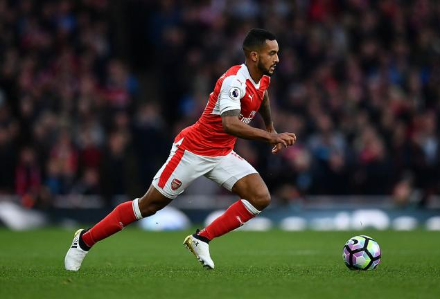 <strong>8. Theo Walcott (Arsenal)</strong> Foto: Getty