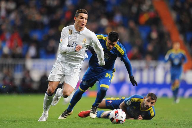 <strong>7. Cristiano Ronaldo (Real Madrid)</strong> Foto: Getty