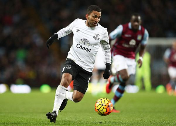 <strong>6. Aaron Lennon (Everton)</strong> Foto: Getty