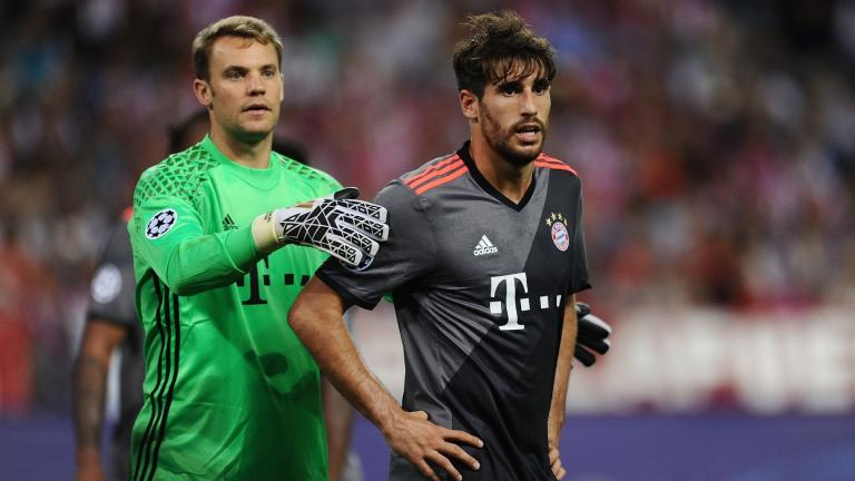 <b>Javi Martínez / Defensa / Bayern Munich</b> </p>Foto: Getty Images</p>