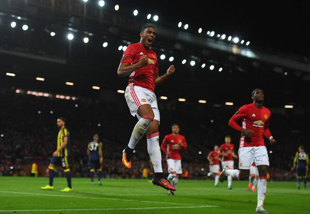 <strong>4. Anthony Martial: 63 puntos</strong><p>Foto: Getty</p>