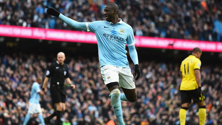Yaya Touré | Manchester City | 33 años<p>Getty</p>