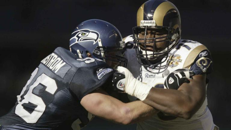 <b>20.- Orlando Pace/St. Louis Rams</b><p>Ohio State</p><p>GettyImages</p>