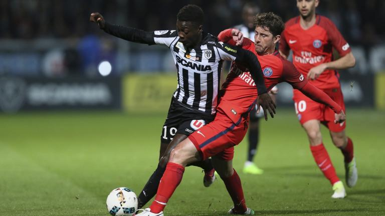 <b>Francia: Angers vs. Paris Saint-Germain</b></p>Foto: AP Images</p>