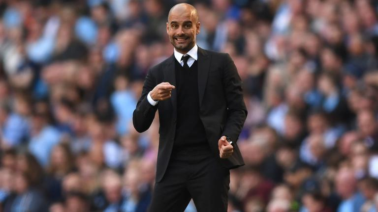 <b>1:</b> Pep Guardiola / España / Manchester City. <p>Foto: Getty</p>