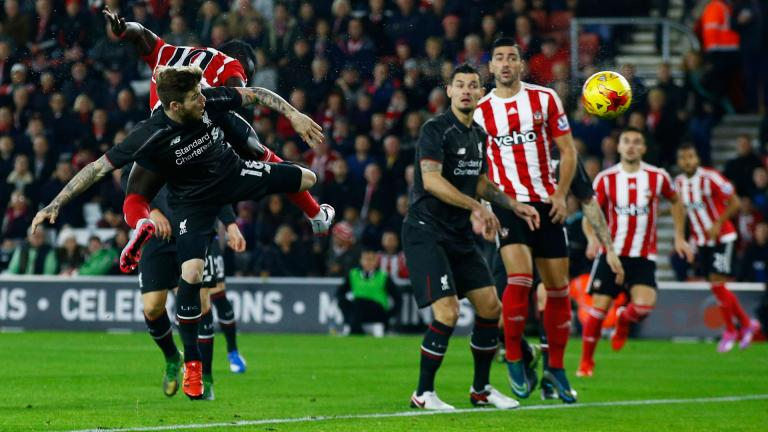 Liverpool vs. Southampton que podrás ver por En Vivo el domingo a las 8:25 AM EDT<p>Getty</p>